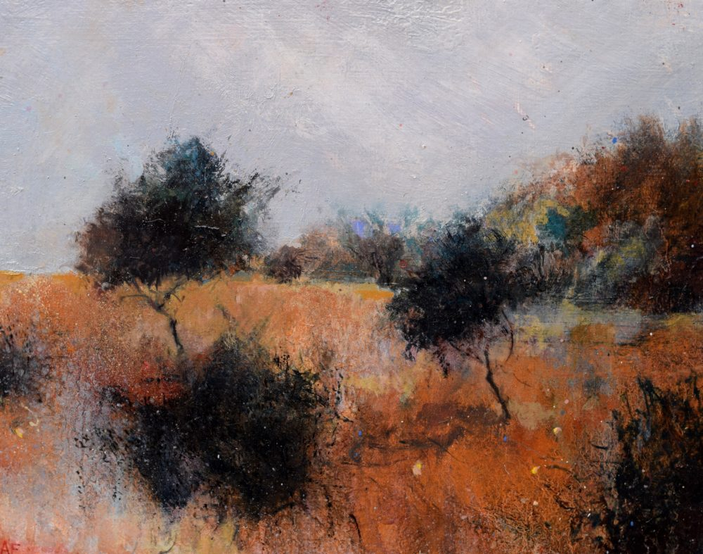 Settling Dusk fine art painting